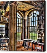 Fonthill Castle Office Canvas Print by Susan Candelario