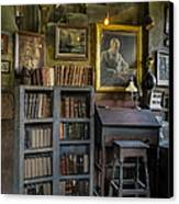 Fonthill Castle Saloon Canvas Print by Susan Candelario