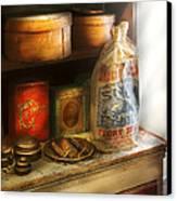Food - Kitchen Ingredients Canvas Print by Mike Savad