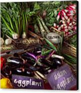 Food - Vegetables - Very Fresh Produce  Canvas Print by Mike Savad