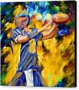 Football I Canvas Print by Lourry Legarde