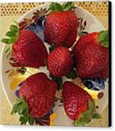 For Dessert II Canvas Print by Zina Stromberg