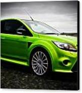 Ford Focus Rs Canvas Print by motography aka Phil Clark