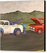 Ford Owner's Nightmare Canvas Print by Tom Rose