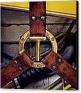 Ford T Hood Strap Canvas Print by Odd Jeppesen