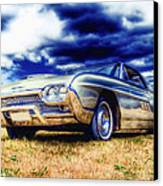 Ford Thunderbird Hdr Canvas Print by Phil 'motography' Clark