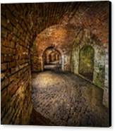 Fort Macomb Canvas Print by David Morefield