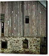Four Broken Windows Canvas Print by Joan Carroll