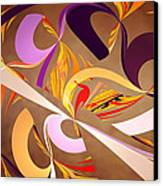 Fractal - Abstract - Space Time Canvas Print by Mike Savad