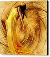 Fractal Dance Of Joy Canvas Print by Gun Legler