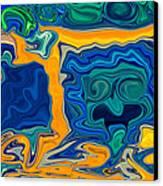 Framed Canvas Print by Omaste Witkowski