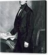 Franklin Pierce Canvas Print by George Healy