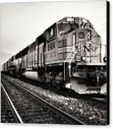 Freight Train Canvas Print by Tom Druin