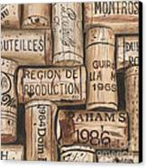 French Corks Canvas Print by Debbie DeWitt