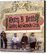 French Gentelman Canvas Print by Mel Felix