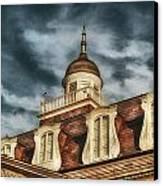 French Quarter Skies Canvas Print by Brenda Bryant