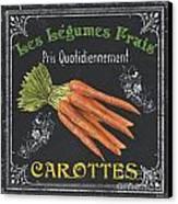 French Vegetables 4 Canvas Print by Debbie DeWitt