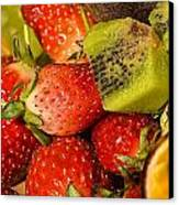 Fresh Fruit Salad Canvas Print by Tomi Junger