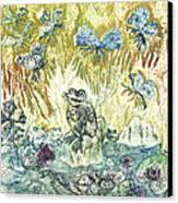 Frogs Canvas Print by Milen Litchkov