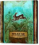 Frolic Canvas Print by Aimee Stewart
