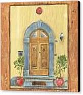 Front Door 1 Canvas Print by Debbie DeWitt