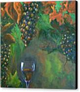 Fruit Of The Vine Canvas Print by Sandra Cutrer