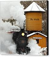 Full Steam Ahead Canvas Print by Ken Smith