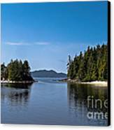 Fury Cove Canvas Print by Robert Bales