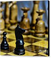 Game Of Chess Canvas Print by Paul Ward