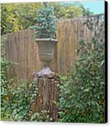 Garden Decor 2 Canvas Print by Muriel Levison Goodwin