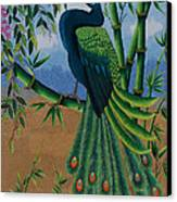 Garden Jewel 1 Hand Embroidery Canvas Print by To-Tam Gerwe