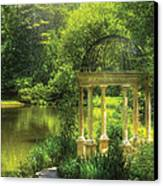 Garden - The Temple Of Love Canvas Print by Mike Savad