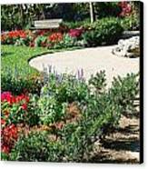 Gardenscape Canvas Print by Aimee L Maher Photography and Art Visit ALMGallerydotcom