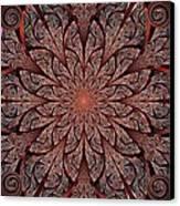 Gates Of Fire Canvas Print by Anastasiya Malakhova
