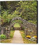 Gateway To The Garden Canvas Print by Wendell Thompson