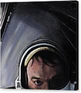 Gemini X- Michael Collins Canvas Print by Simon Kregar