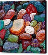 Gemstones Canvas Print by Barbara Griffin