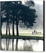 Genegantslet Golf Club Canvas Print by Christina Rollo