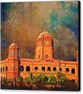 General Post Office Lahore Canvas Print by Catf