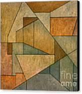 Geometric Abstraction Iv Canvas Print by David Gordon