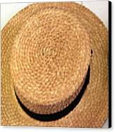 George Wilcox Hat Canvas Print by Dick Willis