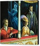 Ghost At The Theatre Canvas Print by Andrew Howat