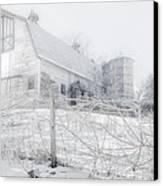 Ghost Barn Canvas Print by Bill Wakeley