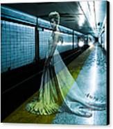 Ghost Bride Canvas Print by Diane Diederich