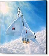 Ghost Flight Rl206 Canvas Print by Michael Swanson