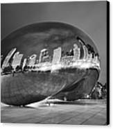 Ghosts In The Bean Canvas Print by Adam Romanowicz