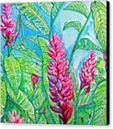 Ginger Jungle Canvas Print by Kelly     ZumBerge