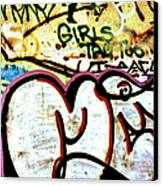 Girls Tag Too Canvas Print by Trever Miller