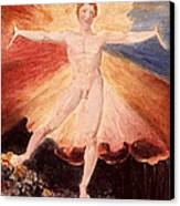 Glad Day Or The Dance Of Albion Canvas Print by William Blake
