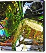 Glass Abstract 119 Canvas Print by Sarah Loft